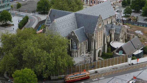 Government and church leaders will announce the fate of Christ Church Cathedral at a press conference of Wednesday afternoon.