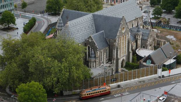 Christ Church Cathedral's fate has been uncertain since the February 2011 earthquake, but the historic building ...