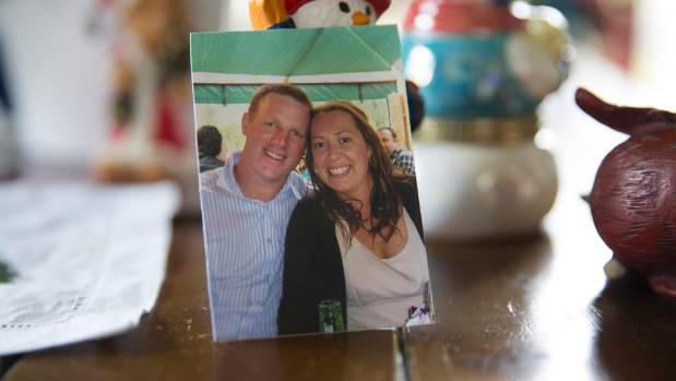 A photo of Chris and Jenny Corlett.