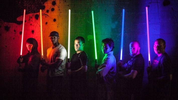 Lightsaber combat worked into fitness routines | Stuff co nz