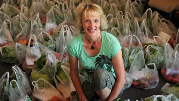 Jill Kirkland says the Fruit and Vege Co-Op scheme is proving popular throughout the Hutt Valley.