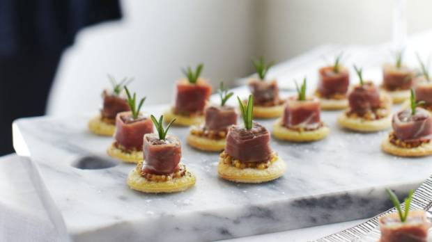 Three perfect party snack recipes for new years eve stuff catering for a crowd these bite sized pass arounds are smart tasty forumfinder Image collections