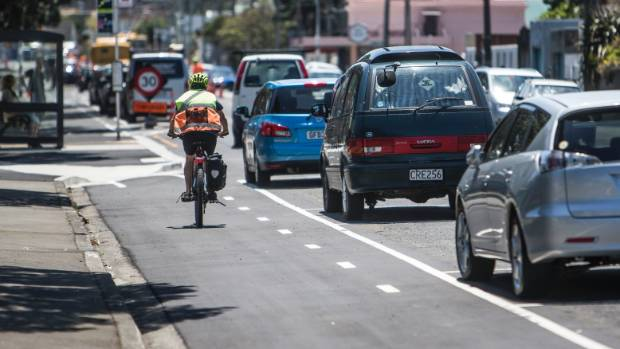 Opinion on the new cycleway in Island Bay is mixed, with some calling the new lanes dangerous.