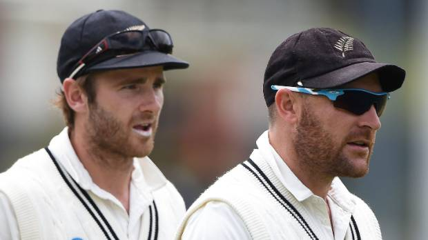 In line to succeed: Kane Williamson has been widely tipped to replace Brendon McCullum as Black Caps captain.