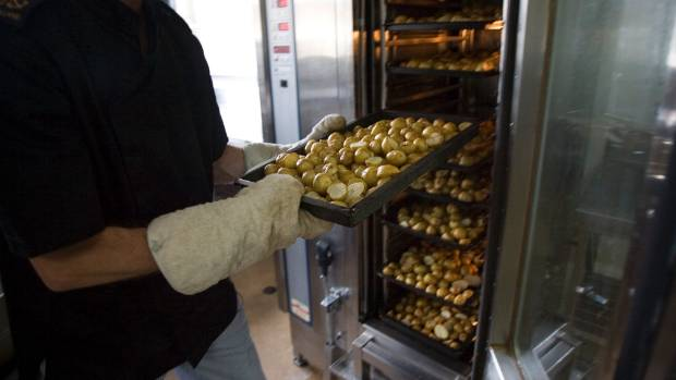 Volunteers will be kept busy cooking 300kg of potatoes.