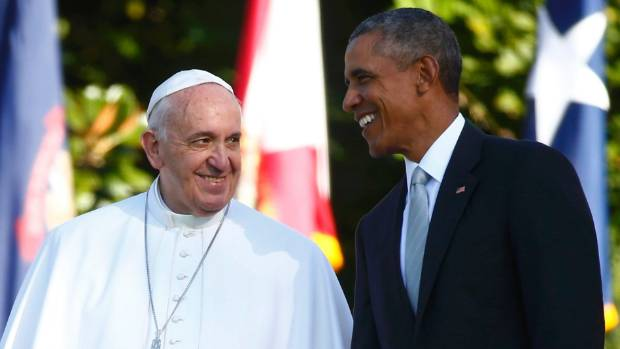 Pope Francis charmed even US President Barack Obama on a visit to Washington DC in 2015.