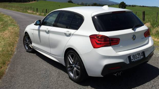 The BMW 125i Is A Great Vehicle For Fun Driving On Quiet Country Roads.
