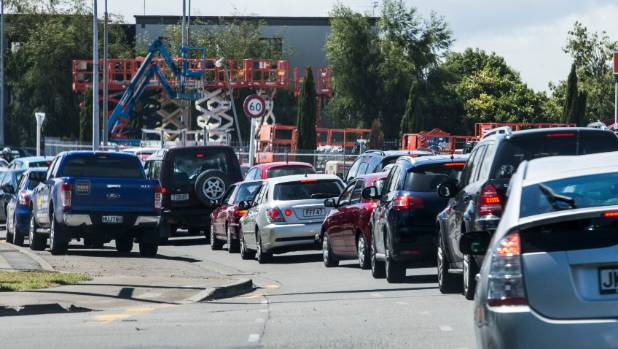 Roads in Riccarton groaned with traffic before Christmas - soon, much of the South Island will share its congestion.
