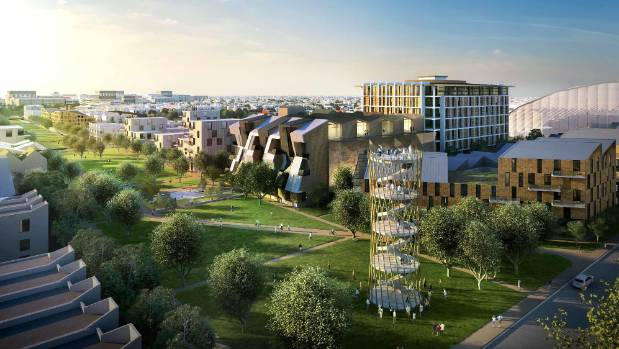 Fletcher Living's plan is to create three new communities in central Christchurch.