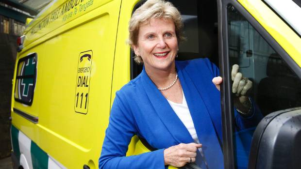 Wellington Free Ambulance chief executive Diana Crossan, who retired from the role this week, hopes for a future in ...