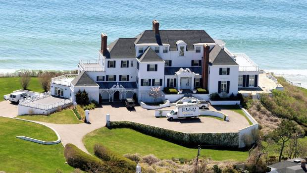 Taylor Swift's Rhode Island mansion.