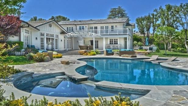 Iggy Azalea's mansion in Tarzana, California.