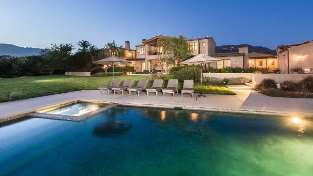 Lady Gaga's US$24 million Malibu mansion.