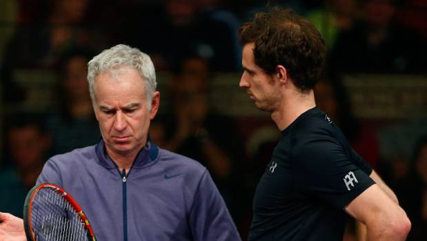John McEnroe has talked up Andy Murray's prospects for 2016 but says the Scot needs to lighten up.