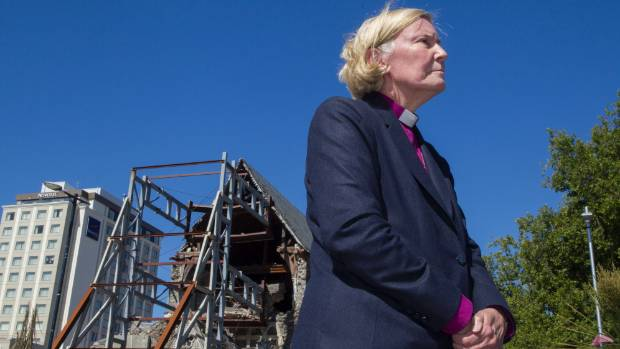 Bishop Victoria Matthews gives a progress report on the future of the Christ Church Cathedral.