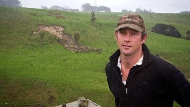 Federated Farmers Manawatu/Rangitikei  Meat and Ffibre chairman, Richard Morrison on his farm near Marton.
