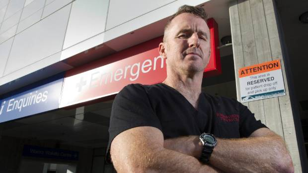 Waikato Hospital Emergency Department clinical director John Bonning said drunk people crowding the ED on Saturday left ...