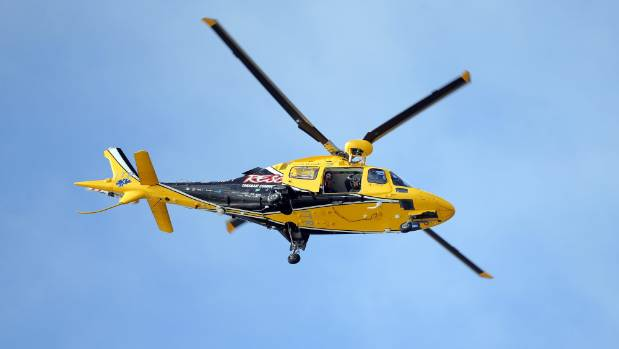 A man, in his late 20s, was flown to Taranaki Base Hospital on Thursday, where he remains in a stable condition.