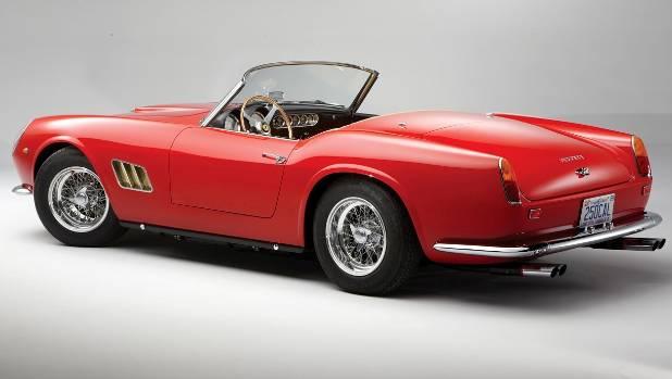 This 1961 Ferrari 250 GT SWB California went for $24.6 million.