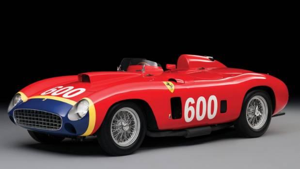 The 1956 Ferrari 290 MM sold for $41 million.