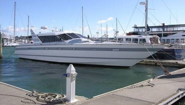 A 50ft launch worth $120,000 was seized from Tauranga drug dealer Royce Duncan.