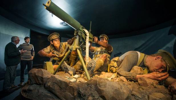 Te Papa's Gallipoli: The Scale of Our War has had more than half a million passengers since it opened in April last year.