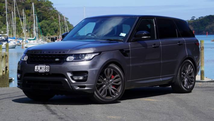 Touch of F-Type in Range Rover Sport HST | Stuff co nz