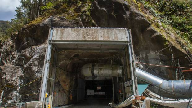 The main entry to the Pike River mine has been sealed since it was rocked by a series of explosions in November 2010.