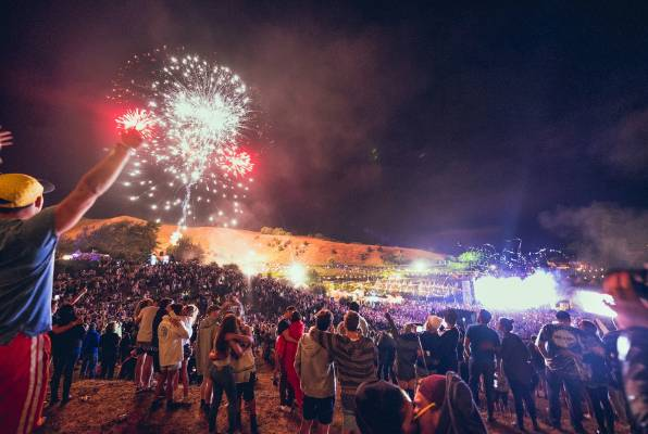 """There was a """"marked improvement"""" in behaviour at Rhythm and Vines, police say."""