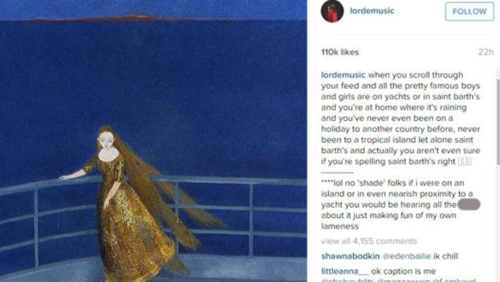 Life's a beach for young celebs, but Lorde keeps New Years ...