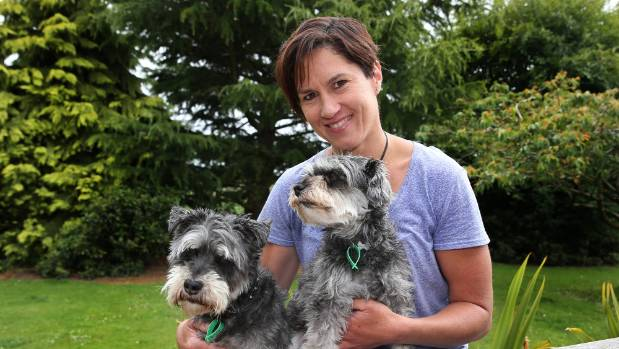 Dacre resident Tammy Vincent with her dogs Charlie and Chile, decided to start exercise classes in Edendale when she ...