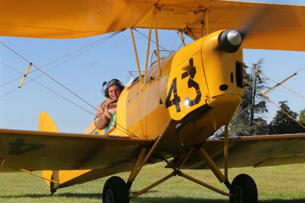 Ross Brodie, of Rangitata, flew his father's Tiger Moth - and 15 other aircraft - on his 16th birthday, the first day he ...