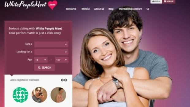 Caucasian only dating site