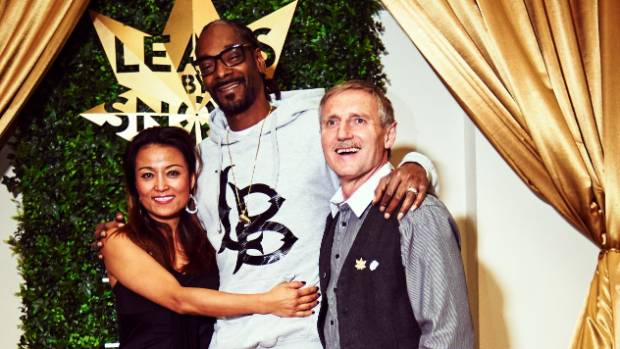 Rapper Snoop Dogg joined John Lord's business as a promoter and has a line of weed named after him. Snoop Dogg is ...