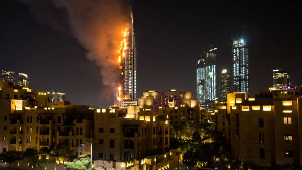 The Jetpacks could soon help save people from fires like the New Year's Eve fire in Dubai.