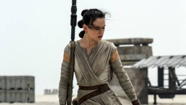 Daisy Ridley plays lead chracter Rey in Star Wars: The Force Awakens, but her action figures are no where to be seen.