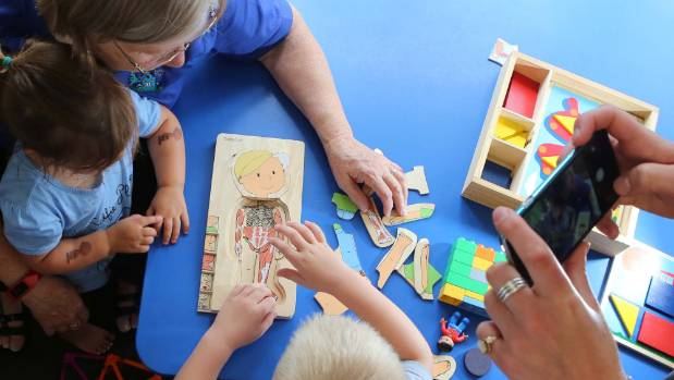 Parents taking snaps at early childhood services need to check before they put photos of other people's kids online, ...