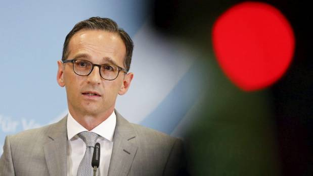 """This is obviously a new dimension in organised crime"" ... German Justice Minister Heiko Maas addresses the Cologne assaults."