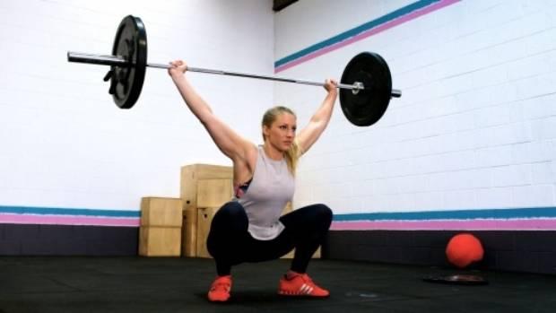Ellie Welsman, 25, head coach at CrossFit Tone at Sydney's Brookvale.
