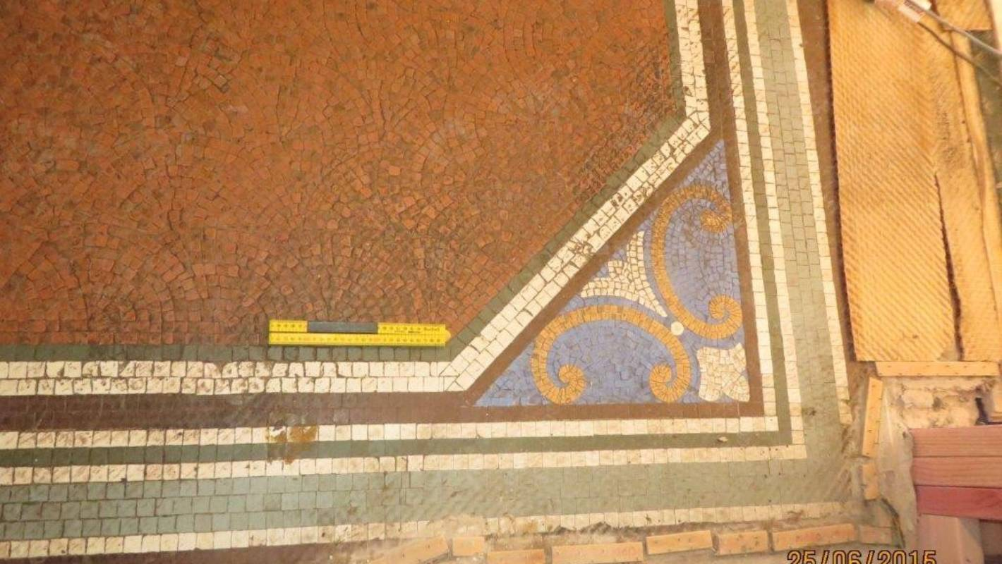 Forgotten Mosaic Discovered At Historic Mona Vale
