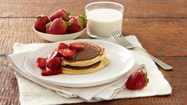 Recipe the nutella pancake stack stuff is there anything better than a fluffy pancake stack for breakfast ccuart Images