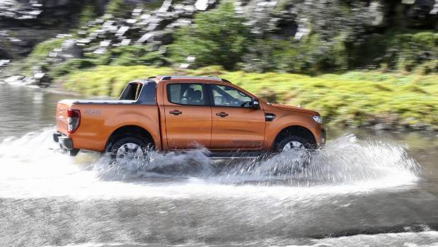 Kiwis like utes like the Ford Ranger because they can do this. Even if many of us don't actually do this.