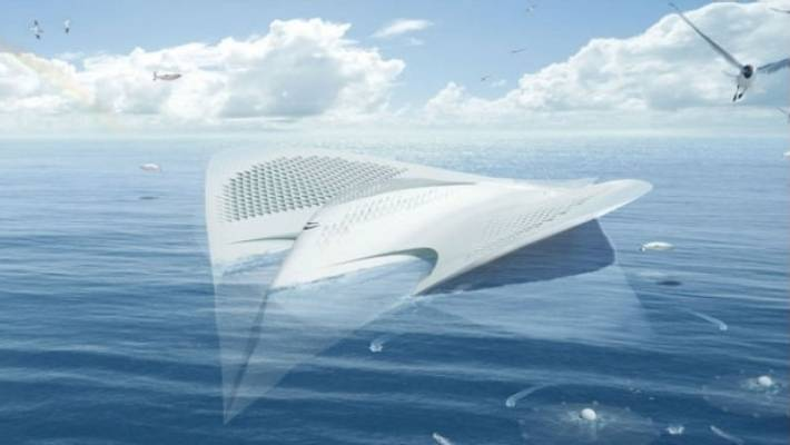 Manta ray cruise ship 'City of Meriens': Is this the future