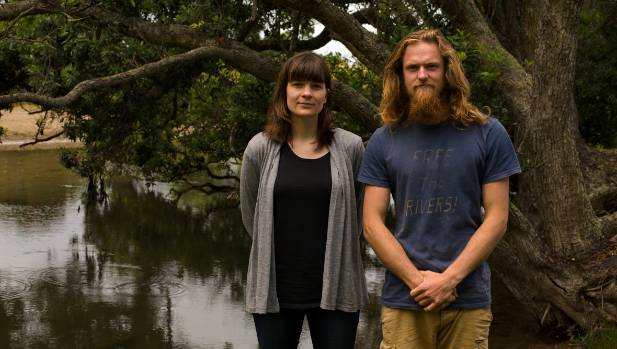 Marnie Prickett and Geoff Reid of the Choose Clean Water project. They are touring the country campaigning for better ...