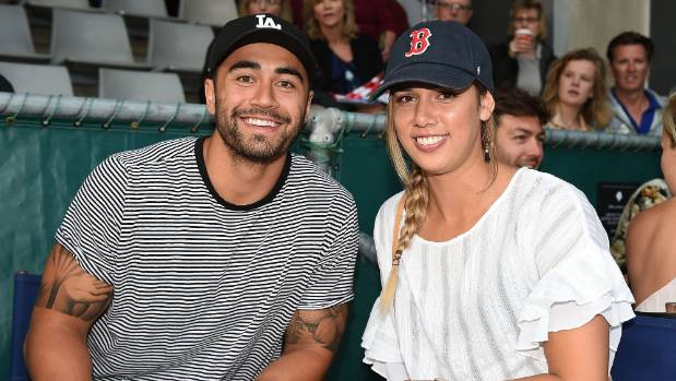 Shaun Johnson and Kayla Cullen on Quarter Finals Day.