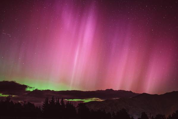 Southern lights, Wanaka.