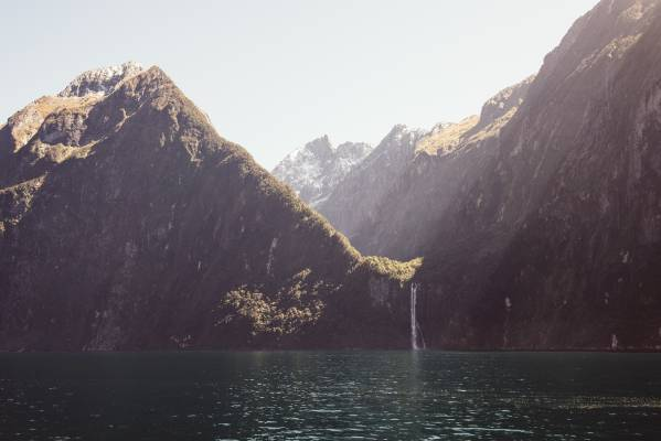 Milford Sound, Fiordland National Park.