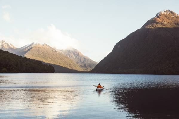 Lake Gunn, Fiordland National Park.