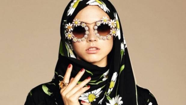 D&G focuses its decorative Sicilian spirit into a new range of hijab and abaya.