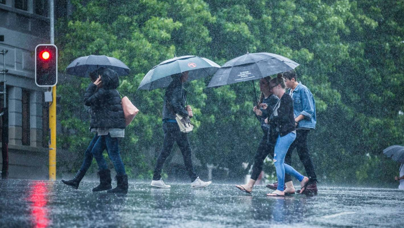 Wet weather forecast for large chunks of NZ